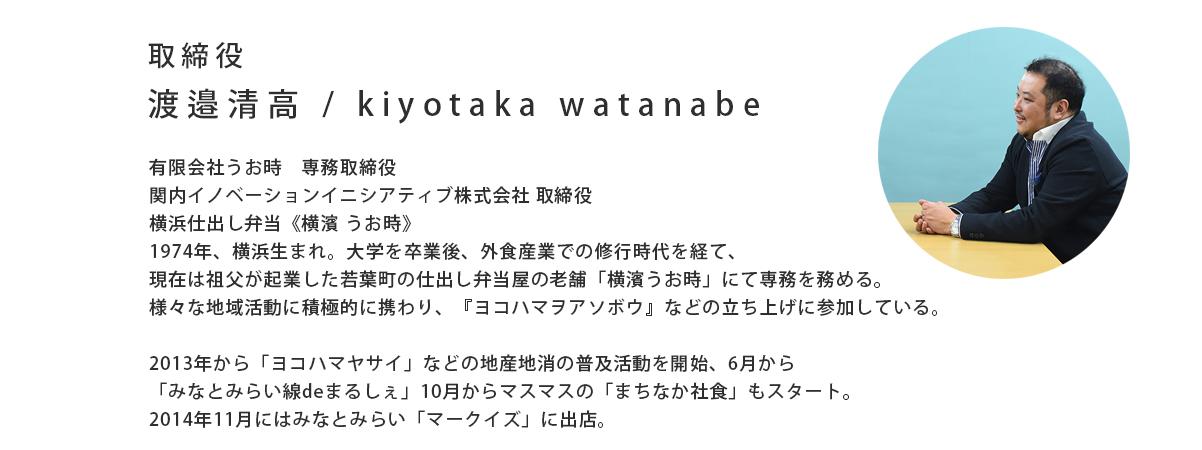 kiyotaka5anniv. 対談記事 プロフィール